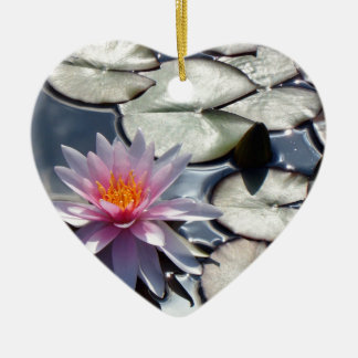 water-lily-322 ceramic ornament