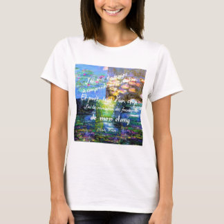 Water lily and Monet fascination. T-Shirt