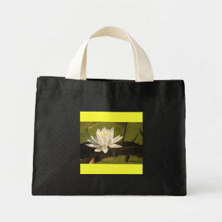 Water-Lily Canvas Bags