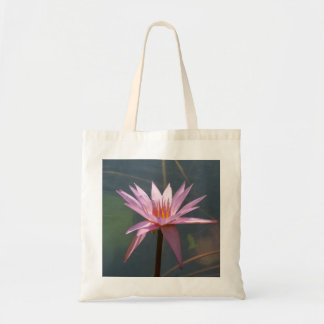 Water Lily Canvas Bag