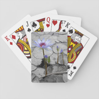 Water Lily Beauty Playing Cards
