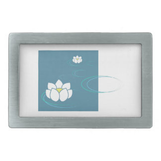 Water Lily Belt Buckles