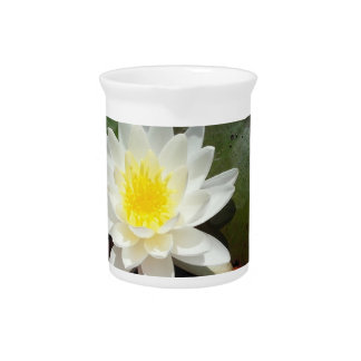 Water Lily Beverage Pitchers