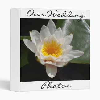 Water Lily Binder