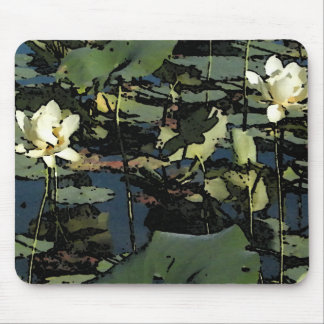 Water Lily Blossoms Mouse Pad