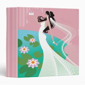 Water Lily Bride Wedding Planner Photo Notebook 3 Ring Binders