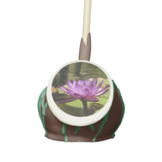 Water Lily Cake Pops