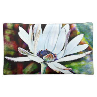 Water Lily Cosmetic Bag