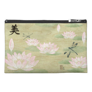 Water Lily Cosmetic Travel Bag