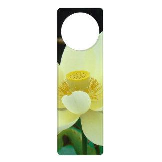 water lily door hangers