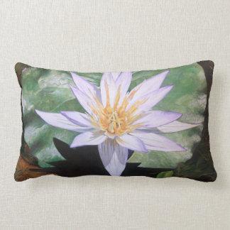 Water Lily Fine Art Pillow