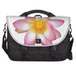 water lily flower commuter bag