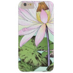 Water Lily Flower in Bloom Barely There iPhone 6 Plus Case