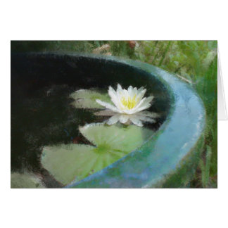 Water Lily Gift Range Card