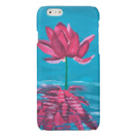 Water Lily Glossy iPhone 6 Case