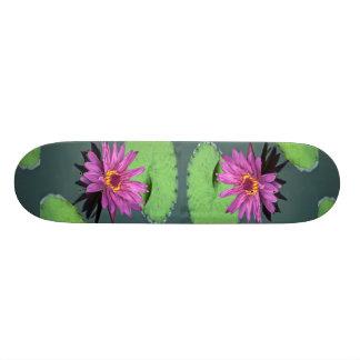 Water lily in full bloom custom skate board