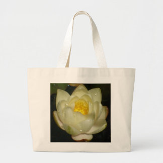 Water Lily Jumbo Tote Bag