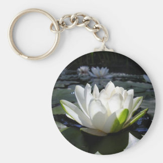 Water lily key chains