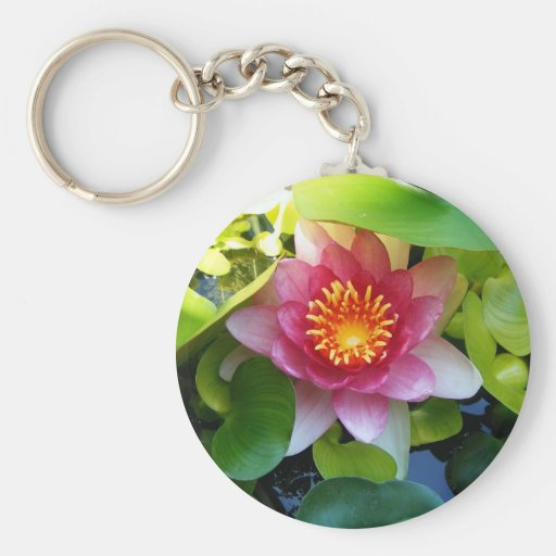 Water Lily Keychain
