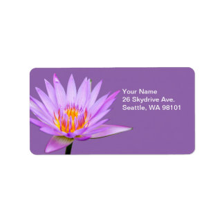 Water Lily Label