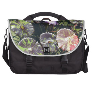 Water Lily Laptop Commuter Bag