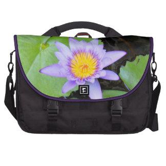 Water Lily Laptop Bag