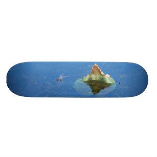 Water Lily Leaf Skateboard