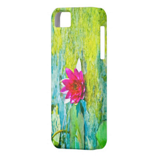 Water Lily Lilypad iPhone SE/5/5s Case
