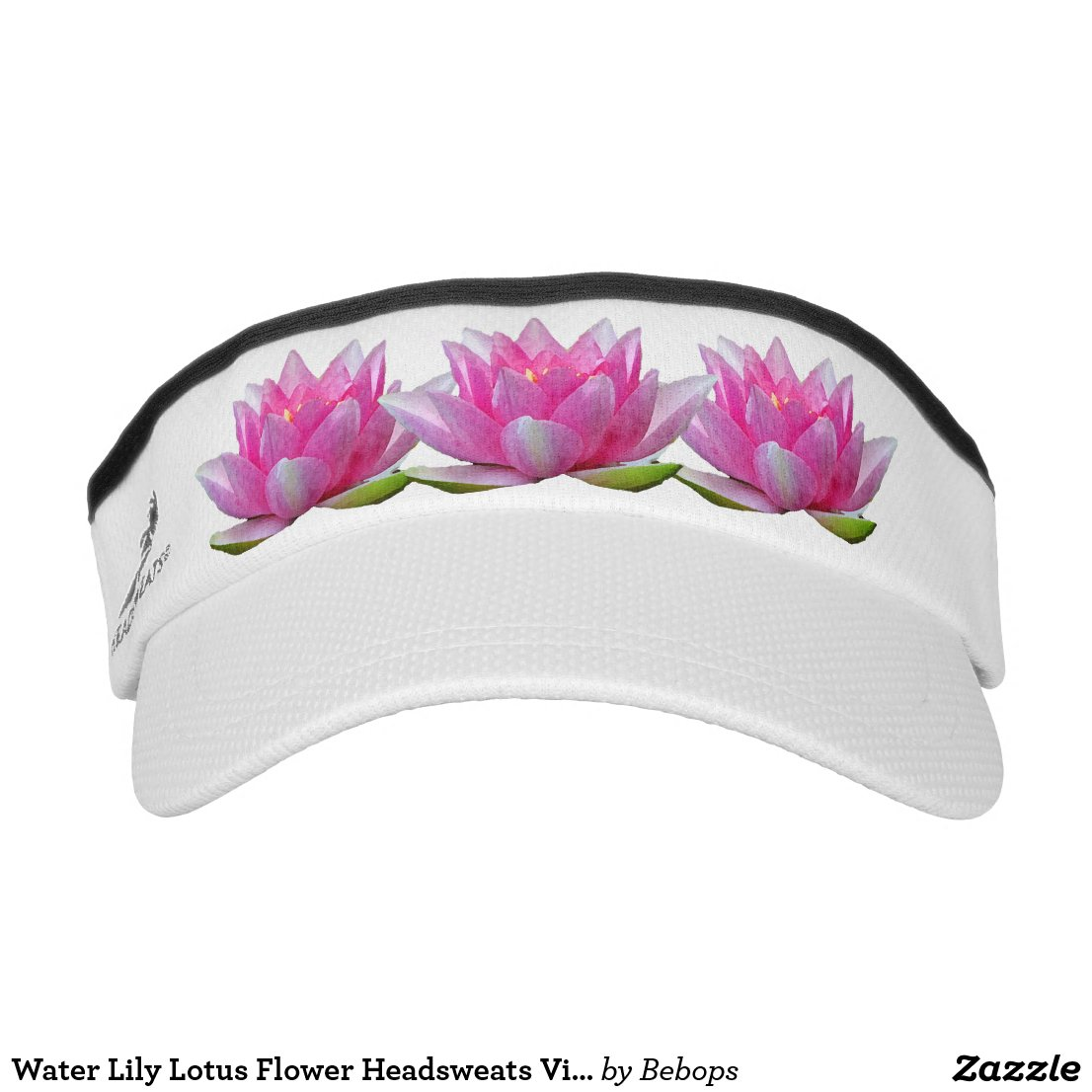 Water Lily Lotus Flower Headsweats Visors