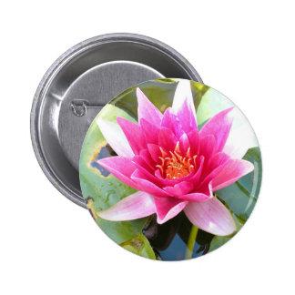 Water Lily Lotus Flower Pin