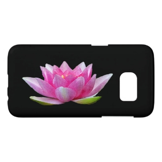Water Lily Lotus Flower Samsung Galaxy S7 Case