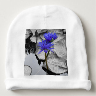 Water Lily Love Baby Beanie