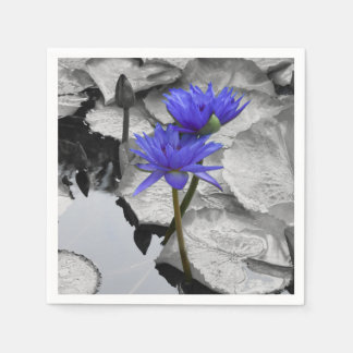 Water Lily Love Napkin