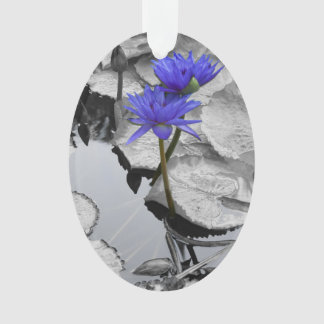 Water Lily Love Ornament