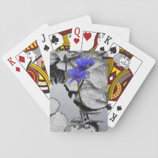 Water Lily Love Poker Cards