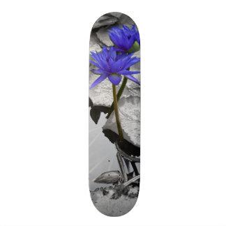 Water Lily Love Skateboard Deck