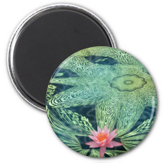 Water Lily Fridge Magnet