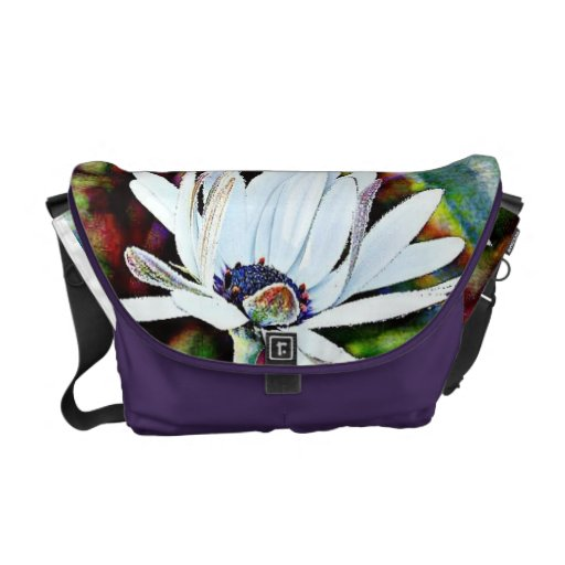 Water Lily Commuter Bag