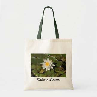 Water Lily - Nature Lover Tote Bag