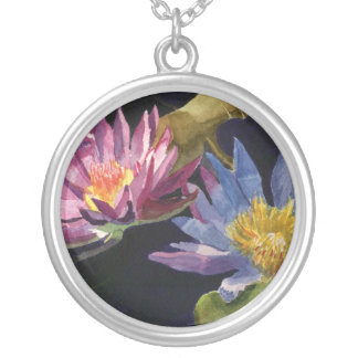 Water Lily Custom Necklace
