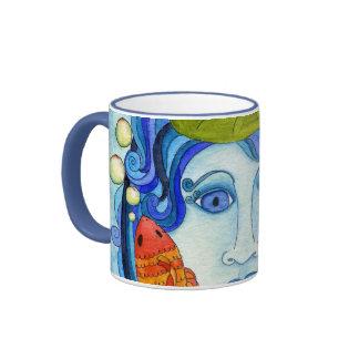 Water Lily Nymph Close-up Mug