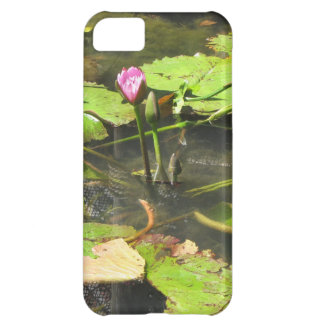 Water LIly Pad Pond iPhone 5C Cases