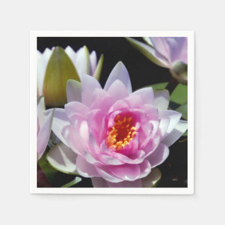 Water Lily Paper Napkin