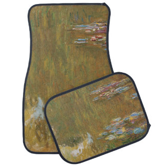 Water Lily Pond by Claude Monet Car Floor Mat