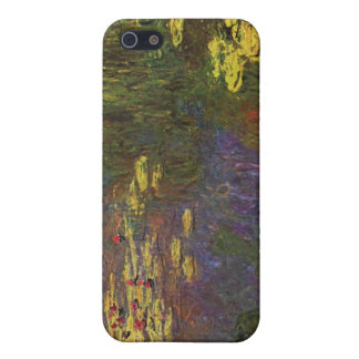 Water Lily Pond by Claude Monet Case For iPhone SE/5/5s
