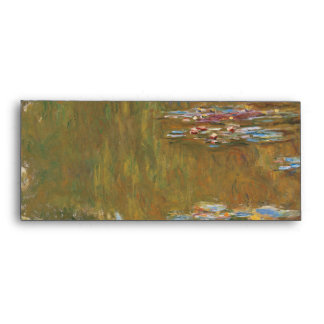 Water Lily Pond by Claude Monet Envelope
