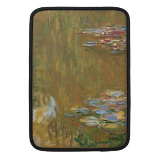 Water Lily Pond by Claude Monet Sleeves For MacBook Air