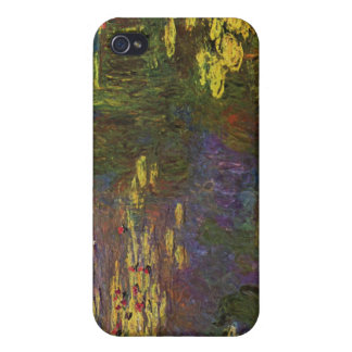 Water Lily Pond by Claude Monet iPhone 4/4S Cases