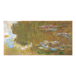 Water Lily Pond by Claude Monet Photograph