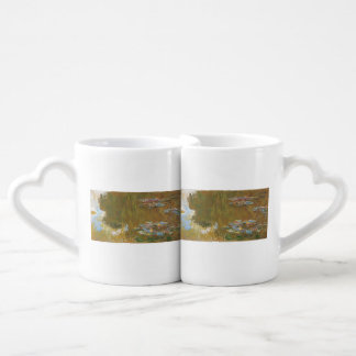 Water Lily Pond by Claude Monet Couple Mugs